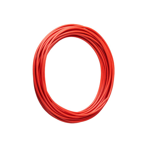 Rubber Insulated Wire, Red