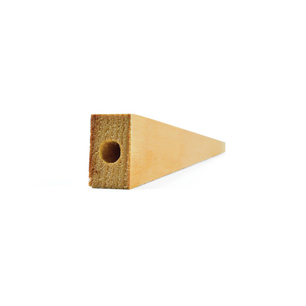 KELVIN® Air-Powered Dragster Wood Blank Bulk Pack, 7-1/2 in. L w/ Pre-Drilled Hole