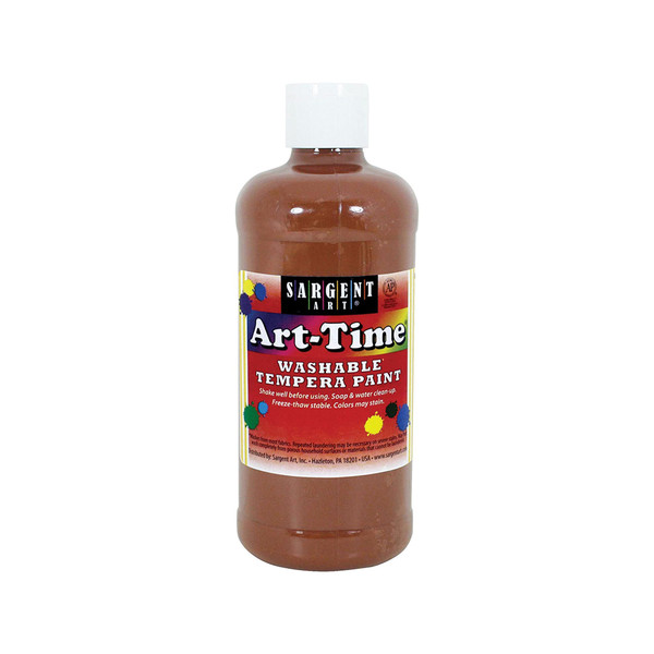 Art-Time Washable Paint - Brown