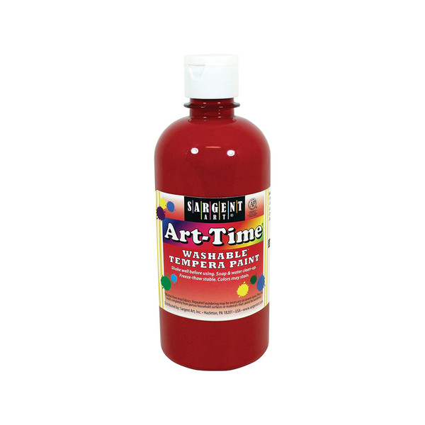 Art-Time Washable Paint - Red