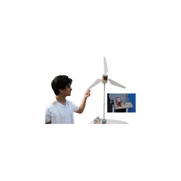 KELVIN® Experimental Wind Turbine with Transformer / Wind-Up Generator Kit