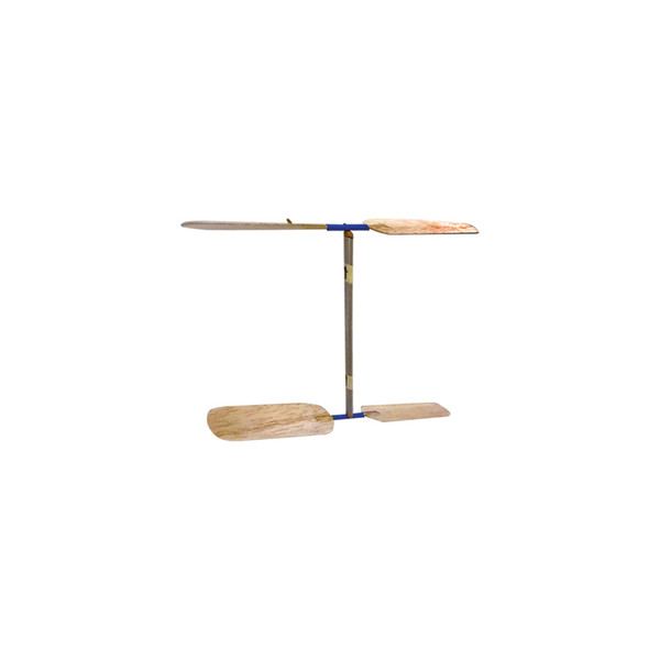 KELVIN® Double Prop Helicopter with Balsa Propellers