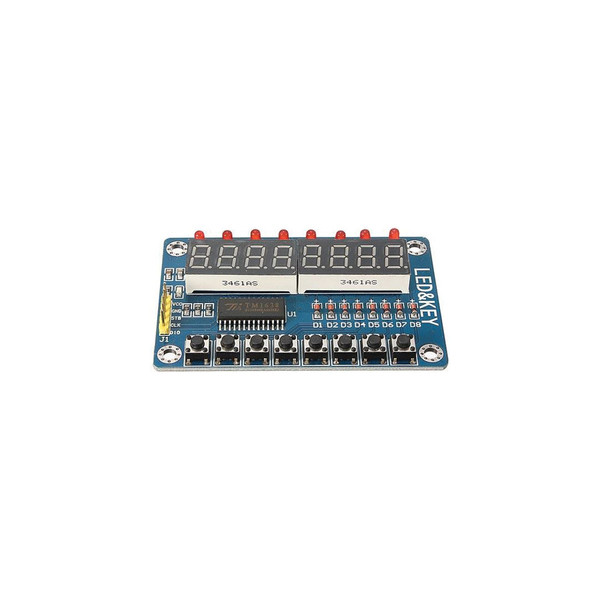 LED & Key Display Module - Arduino Compatible