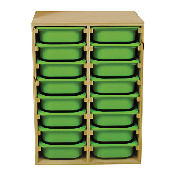 Storage Unit for Bins (Countertop Height)