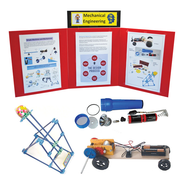 KELVIN® Gr. 4-7 S.T.E.M. Lab: Basic Mechanical Engineering