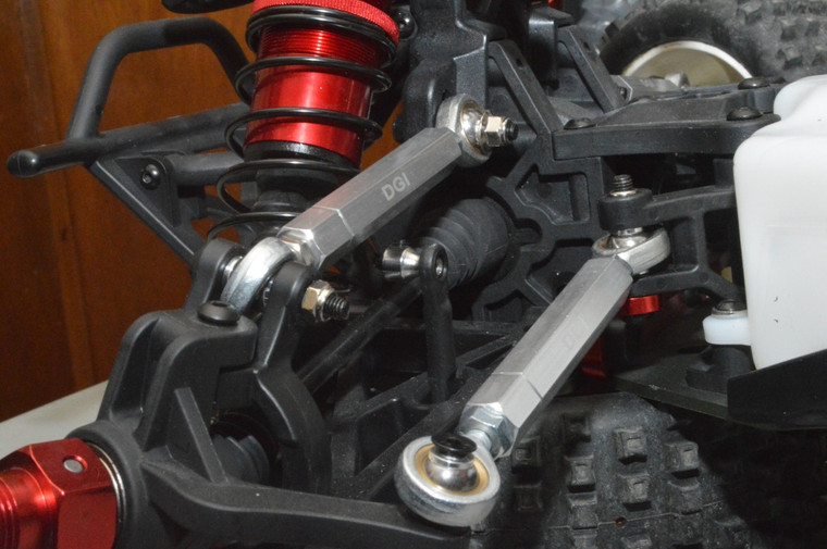 Steering links  turnbuckles  for the losi DBXL