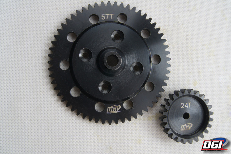 Gears for losi dbxl 24/57