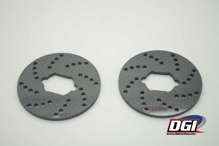 DGI carbon fiber brake discs for losi 5 losi 5 B