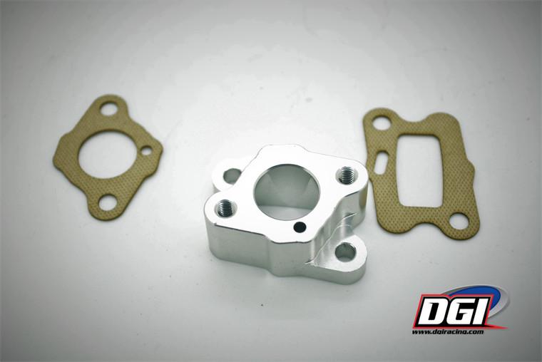 Insulator manifold intake aluminum 32cc