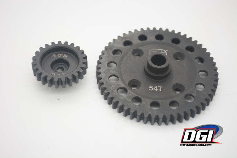 23/54T large gears pinion and spur for losi 5ive losi 5B