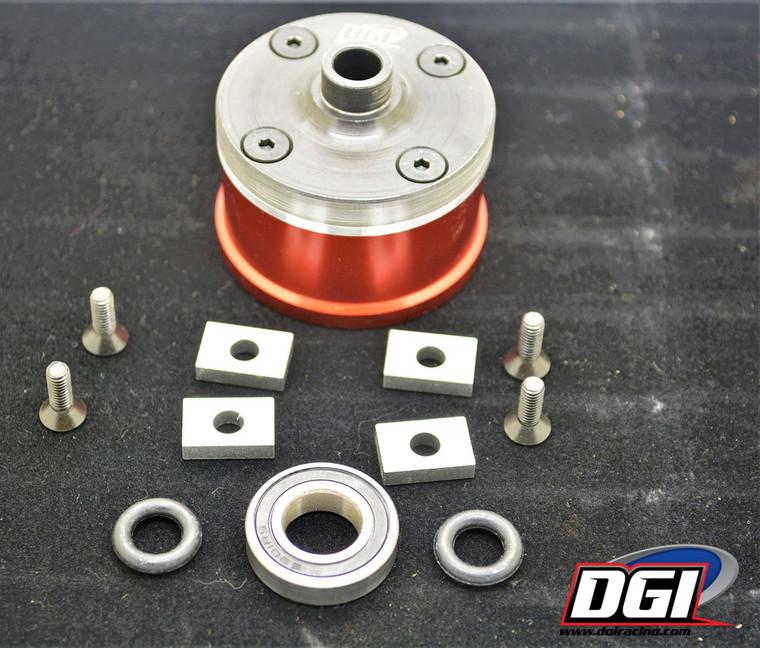 DGI Aluminum inner diffcase for dbxl,mtxl dbxl-e