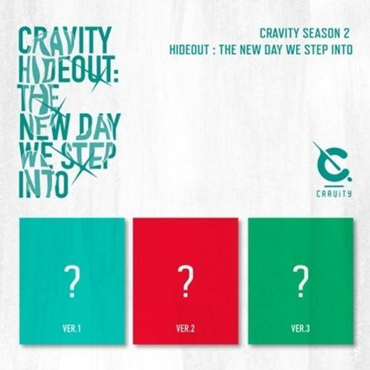 CRAVITY - SEASON2. [HIDEOUT: THE NEW DAY WE STEP INTO]