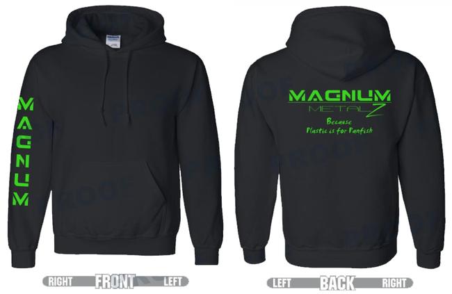 Magnum Metalz Plastic is for Panfish