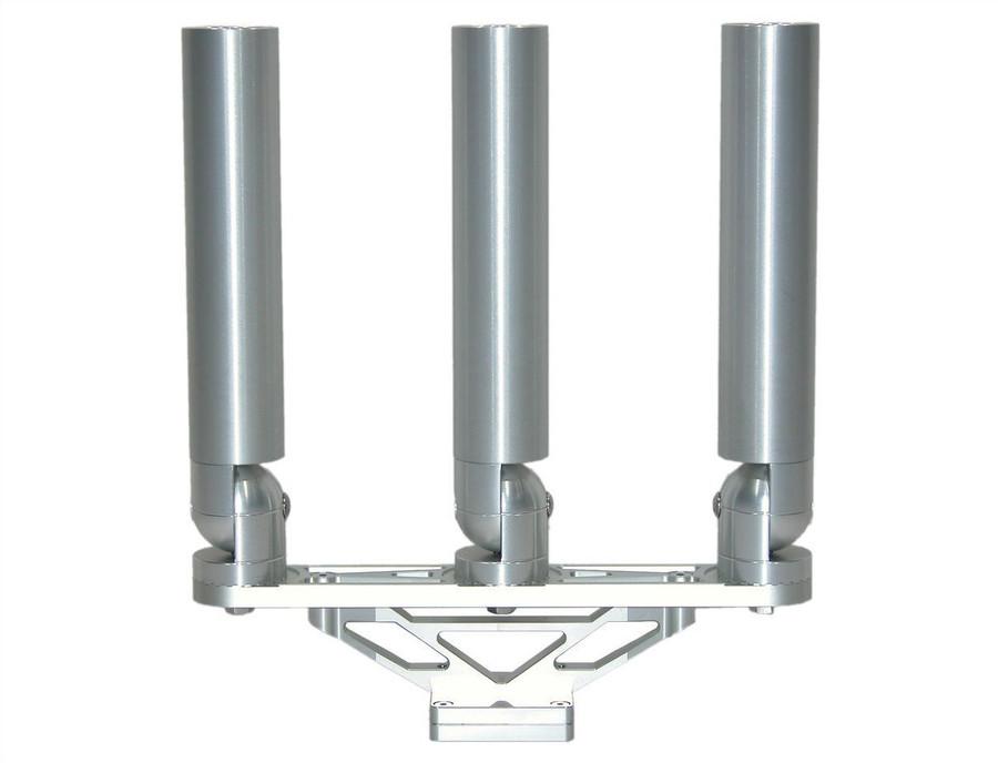 Compact Triple Rod holder