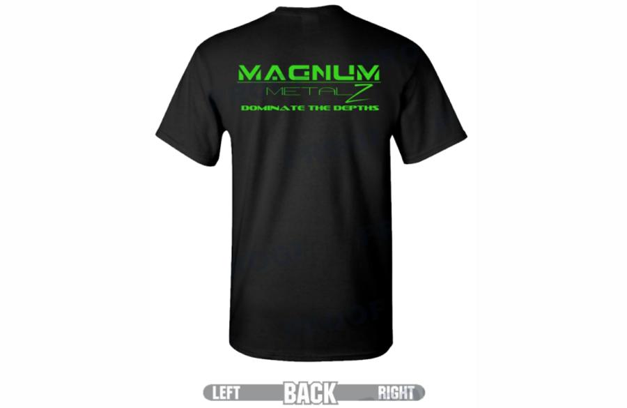 Magnum Metalz Dominate the Depths T-Shirt