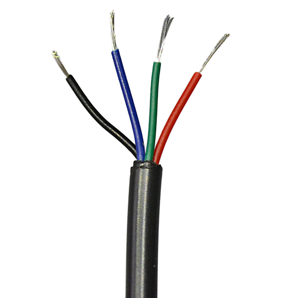 4 conductor wire power lead