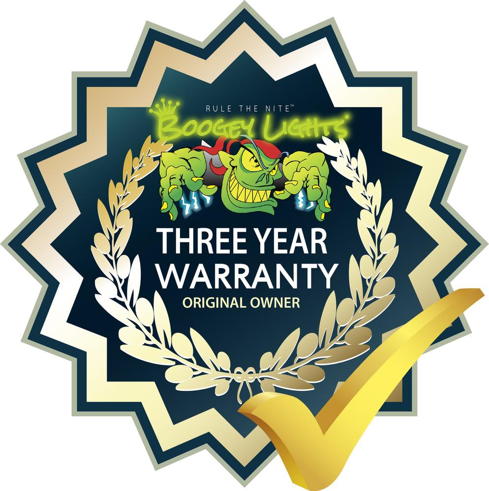 3 Year Original Owner Limited Warranty