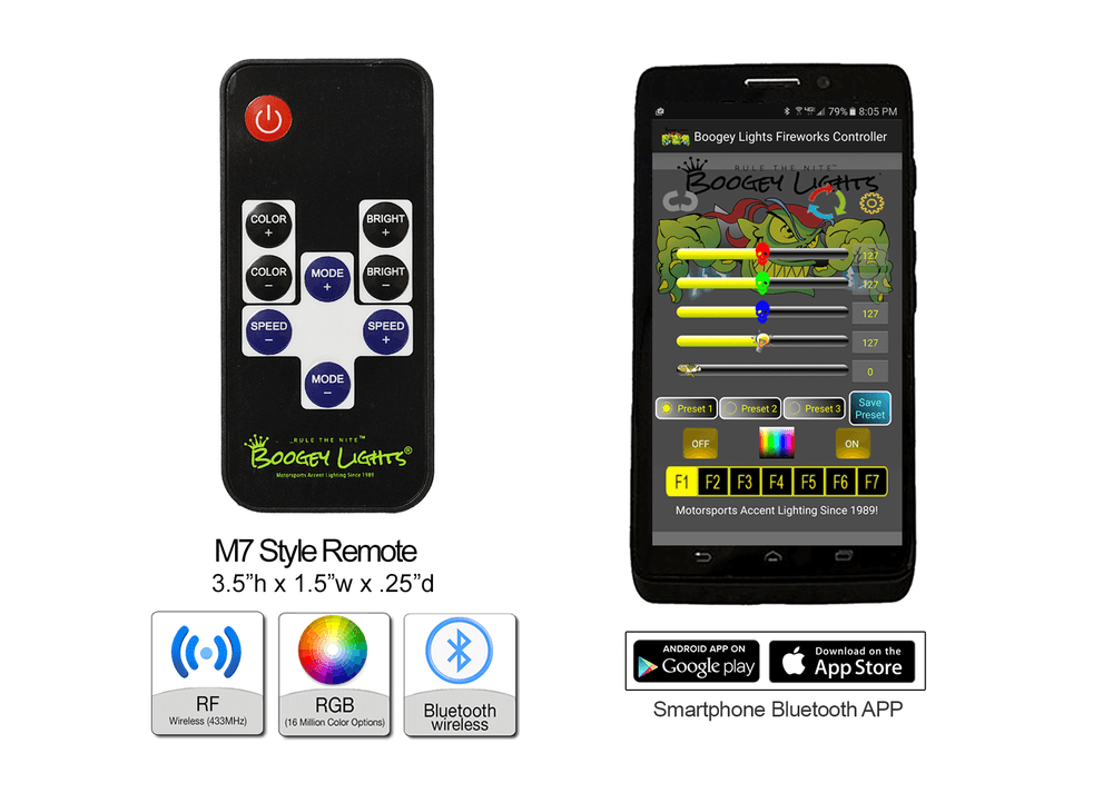 M7 TV Style RF Wireless Remote