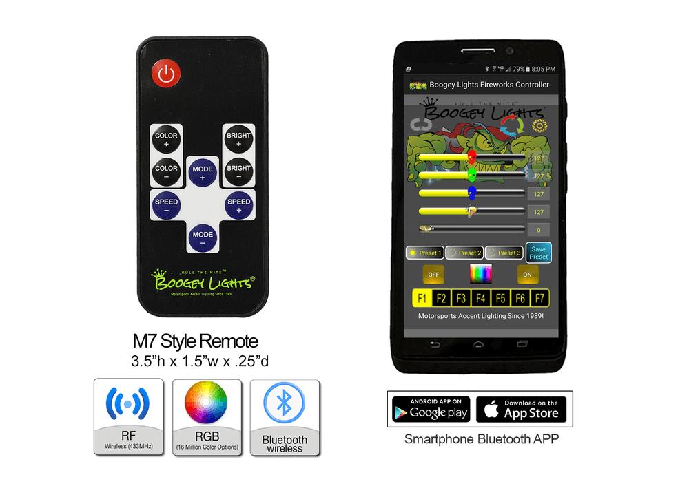 M7 TV Style RF Wireless Remote