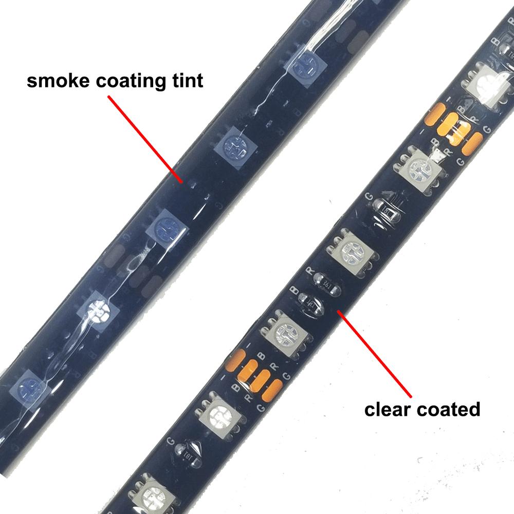 Smoke vs Clear Tinting