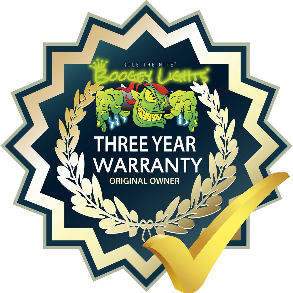 Three Year Original Owner Warranty