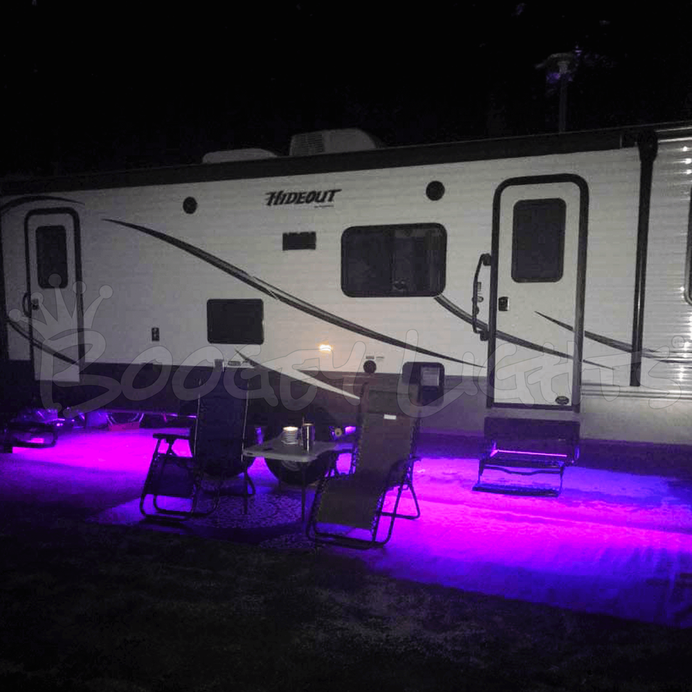 RV Single-Color LED Under-Glow Light Kit