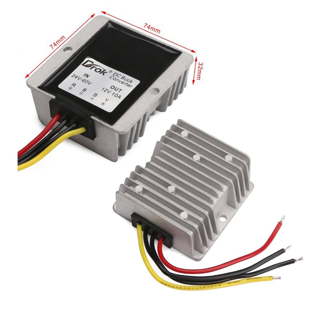 24-60VDC to 12VDC Voltage Reducer for Golf Carts