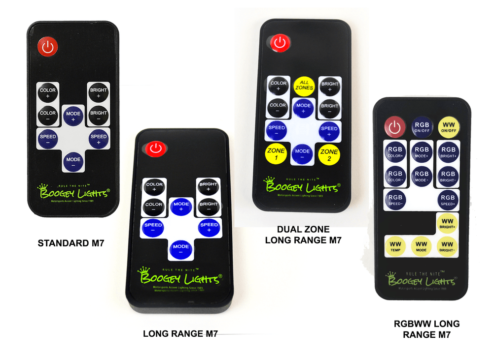 Replacement M7 RF Wireless Remotes
