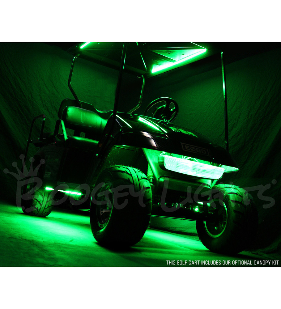 Golf Cart Under Glow Led Kit Single Color