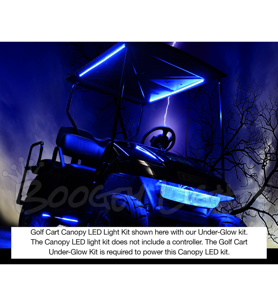 Golf Cart Canopy LED Kit (Single-Color)