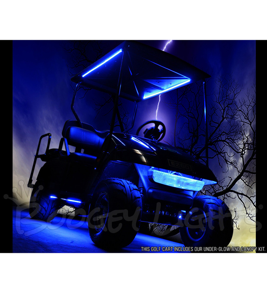 Golf Cart Canopy LED Kit (Single-Color)