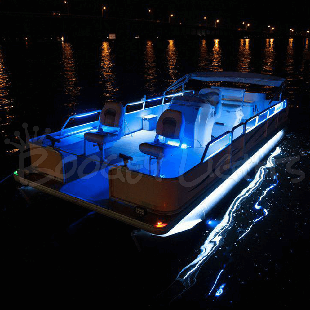 Pontoon Boat Led Light Kit Single Color Boogey Lights
