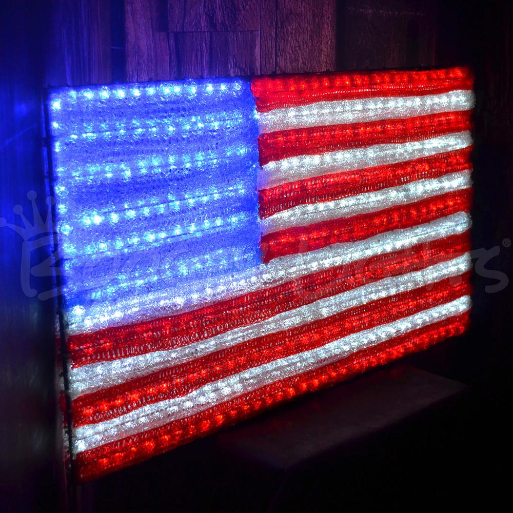Super Bright LED American Flag