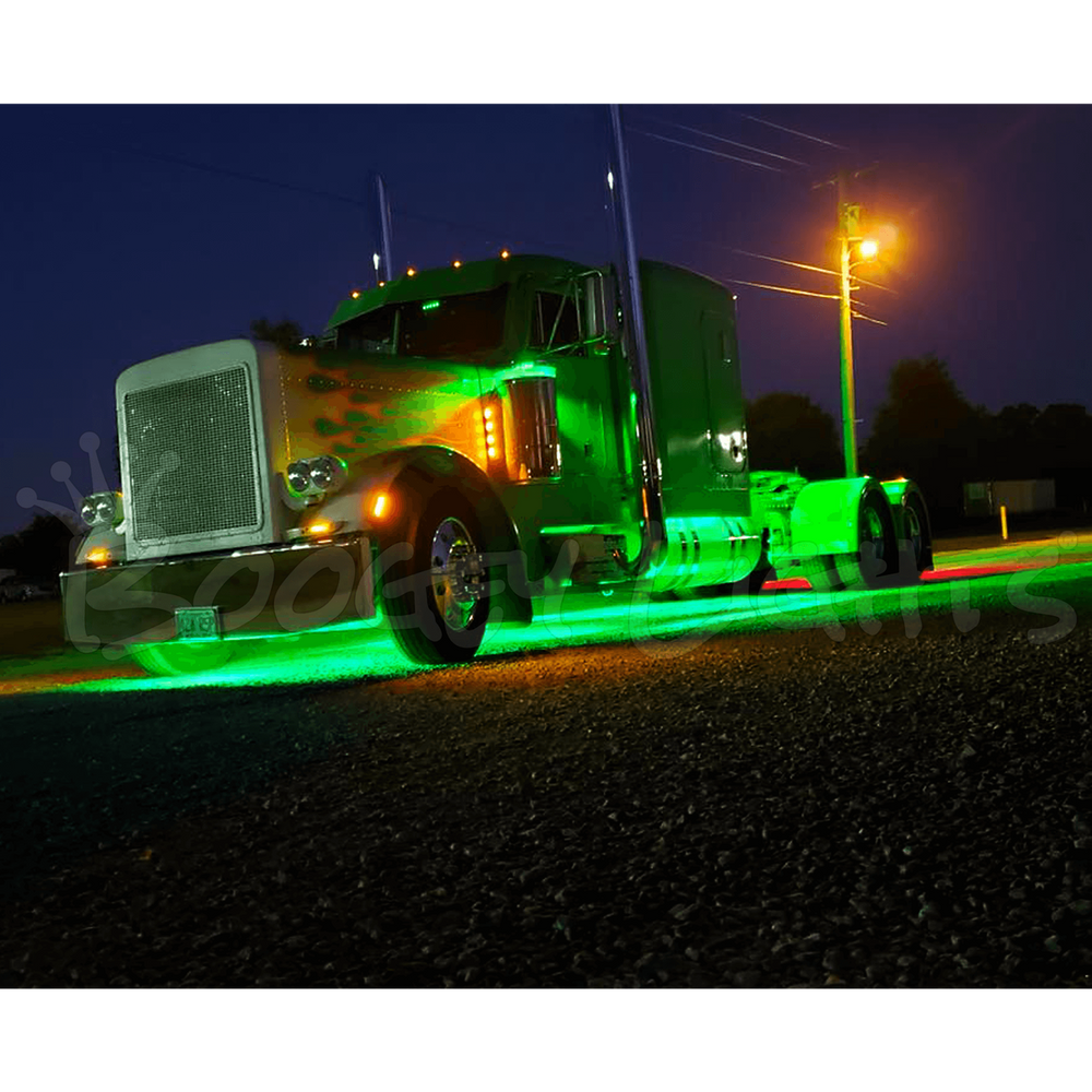 Led Lights For Semi Trucks >> Heavy Duty Truck Led Light Kit