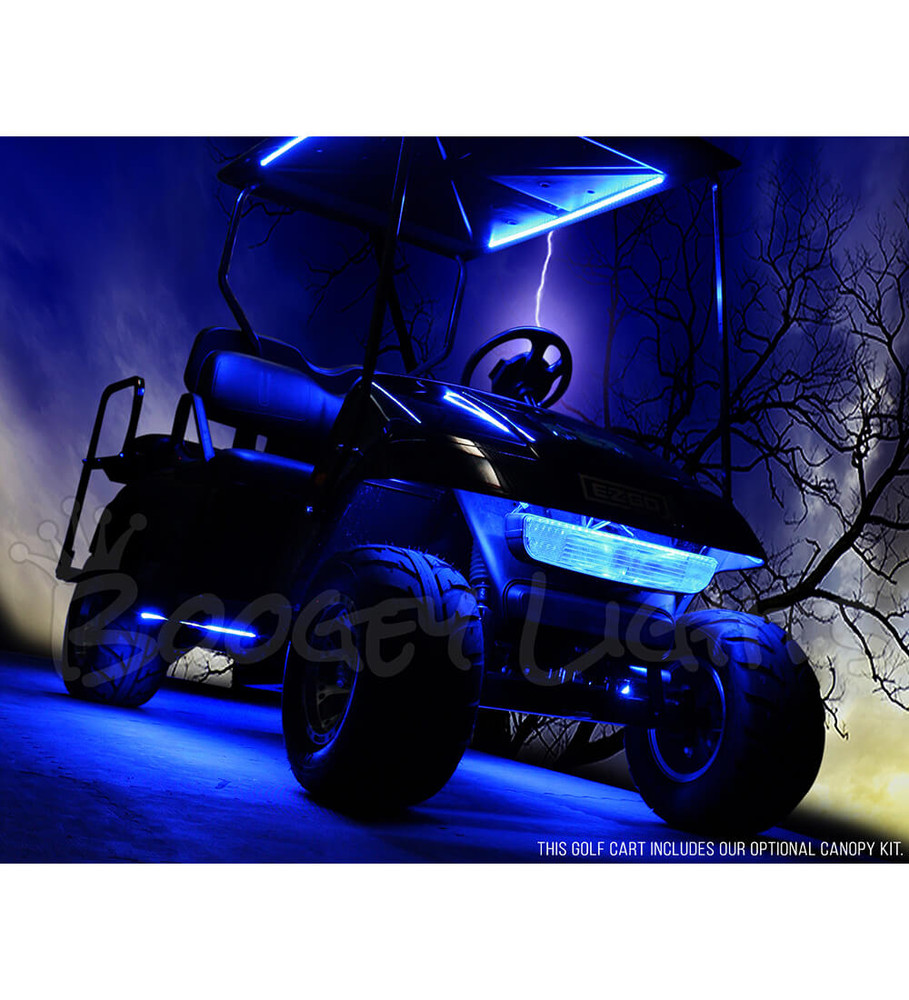 Golf Cart LED Light Kit, RGB Multi-Color