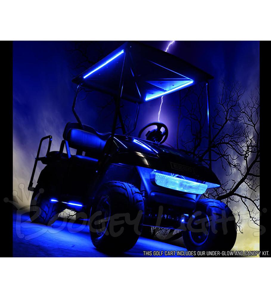 Golf Cart LED Light Kit RGB Multi-Color