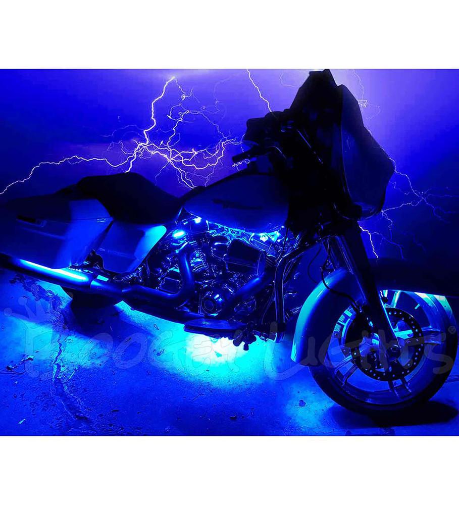 Hi-Intensity Single-Color Touring & Bagger Motorcycle LED Light Kit