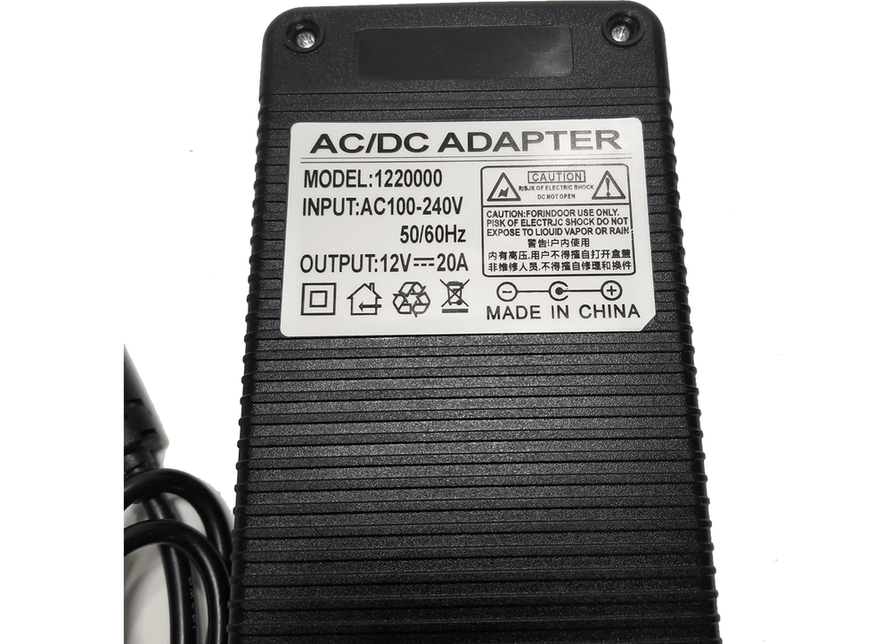 20 AMP 120vac to 12vdc Power Converter