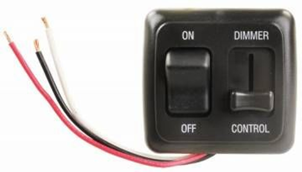 On-Off LED Dimmer Switch with Bezel