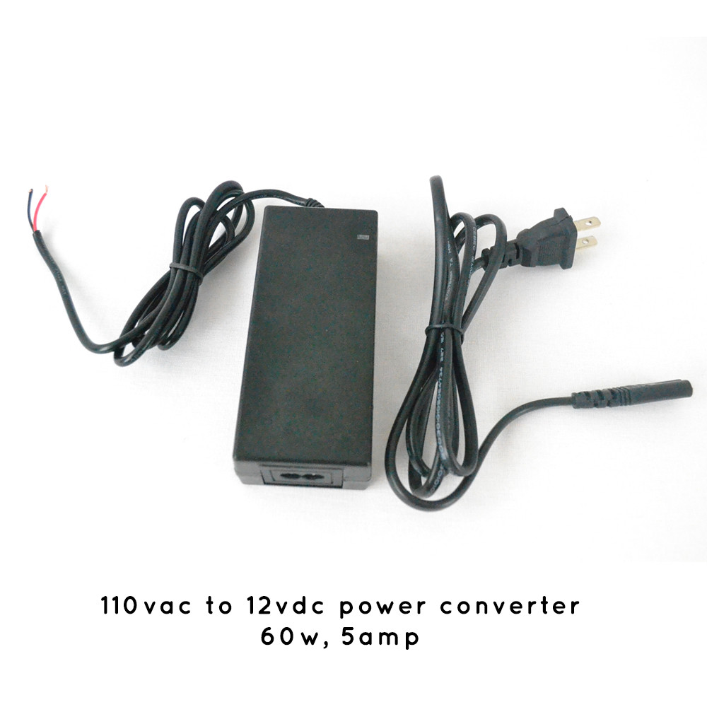 5 AMP 110vac to 12vdc Power Converter