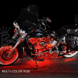Hi-Intensity Multi-Color Touring/Bagger Motorcycle LED Light Kit