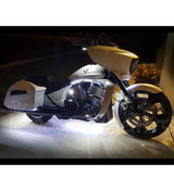 Hi-Intensity Single-Color Touring & Bagger Motorcycle LED Light Kit