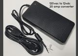 20 AMP 120vac to 12vdc Power Converter