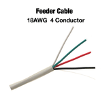 4 Conductor 18AWG Feeder Cable