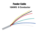 6 Conductor 18AWG Feeder Cable