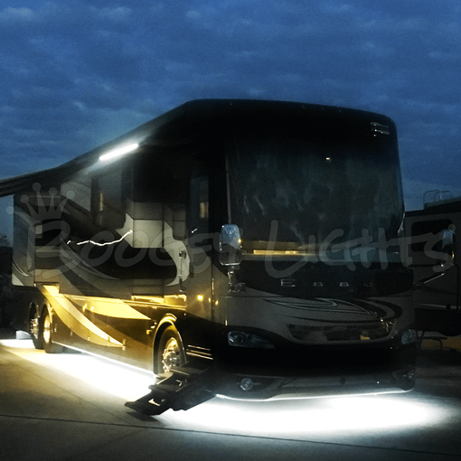 Single Color Under-Glow LED Light Kit for RVs, Trailers and Campers.
