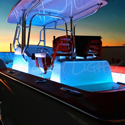 Multi COLOR With Remote Kayak Hull LED Light Kit