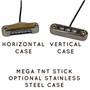 Horizontal and Vertical Case Options