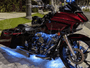 Hi-Intensity 90 LED Motorcycle Engine Light Kit with Ground Effects (RGB)