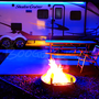 LED Awning Light for RVs, Trailers and Campers.  Shown here in our single color version.